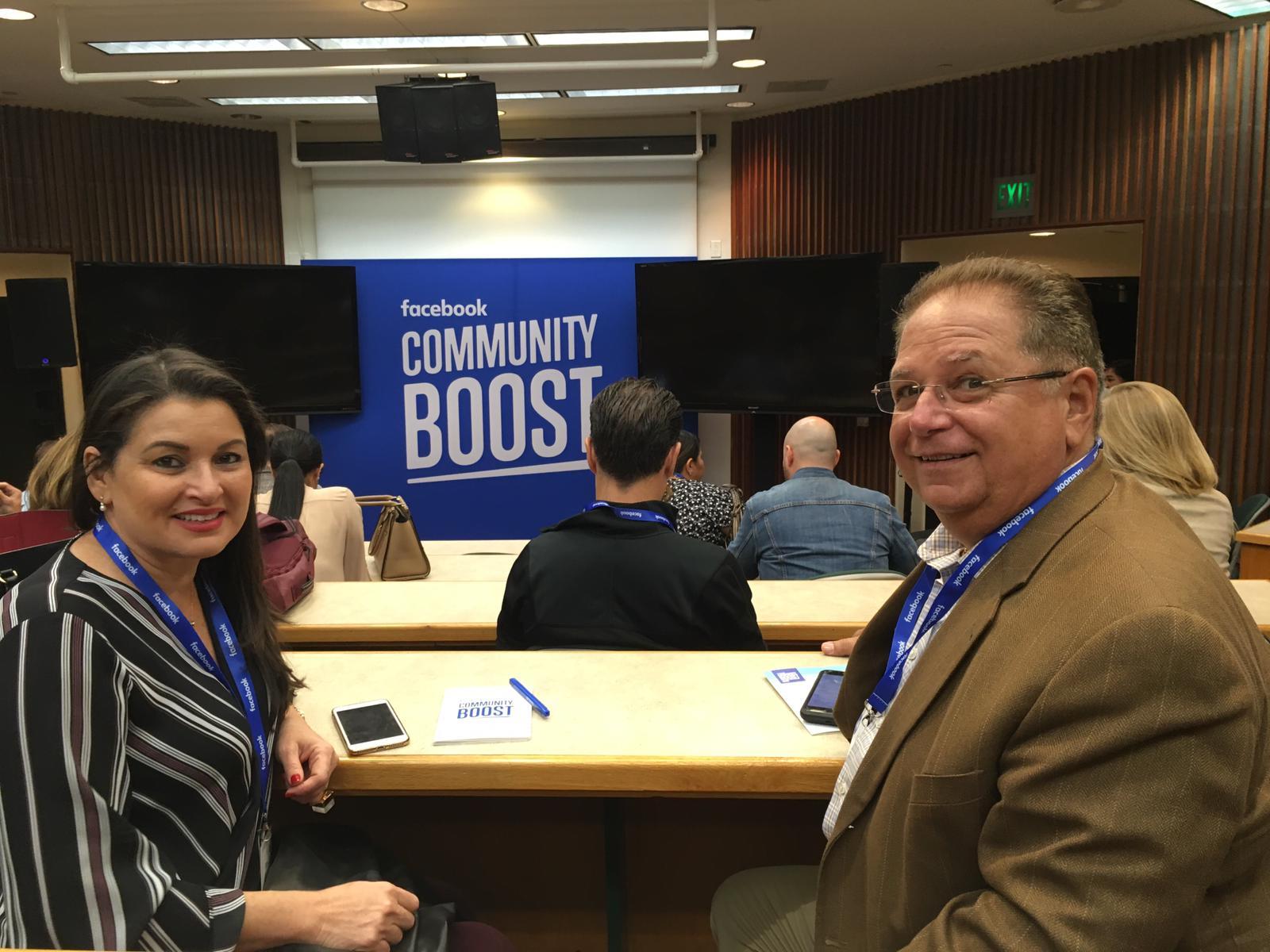 Todo un éxito Facebook Community Boost en Miami