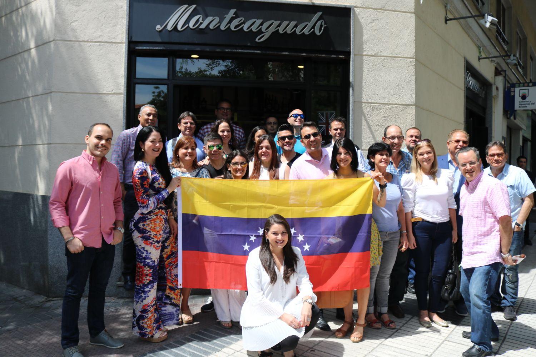 Todo un éxito nuestro Primer Desayuno de Negocios de Venezolanos en Madrid, España