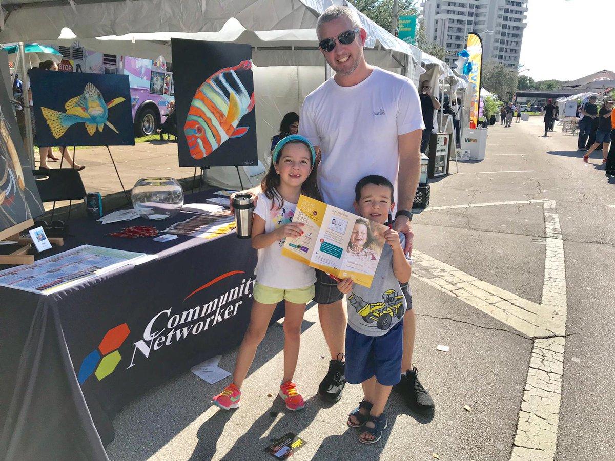 Community Networker celebró la herencia hispana en el  Coral Gables Hispanic Cultural Festival 2018
