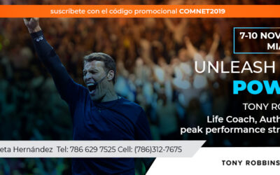 Tony Robbins en Miami con Unleash The Power Within