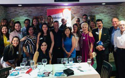 Gran encuentro entre empresarios en nuestro Networking Cocktail en Miami