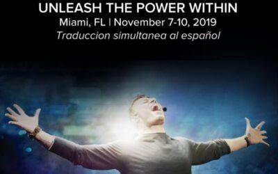 Tony Robbins en Miami con Unleash The Power Within