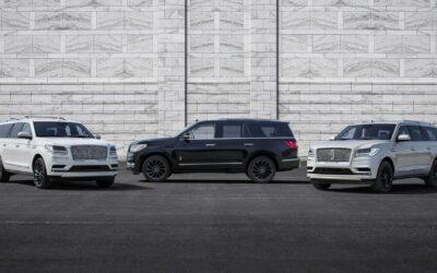 Nuevo Lincoln Navigator llega con tres temas monocromáticos llamativos y tecnología avanzada