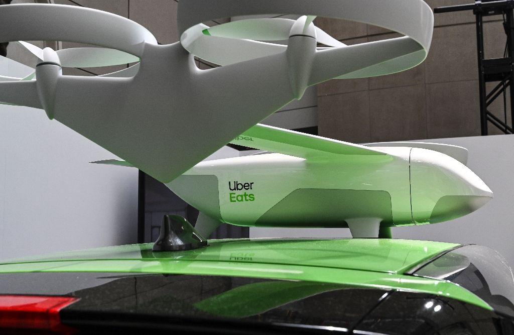 Uber lanza este verano un programa piloto de drones que entregan alimentos