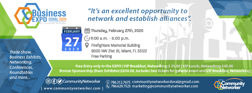 Expo Doral 2020 by Community Networker