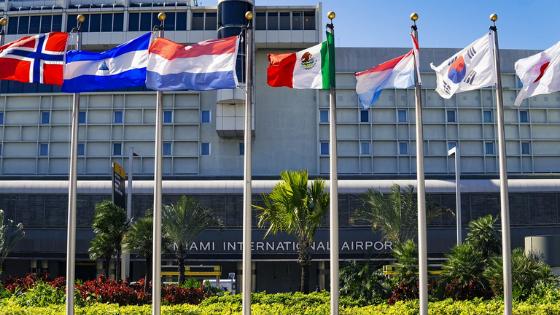 Aeropuerto de Miami a prueba de Covid