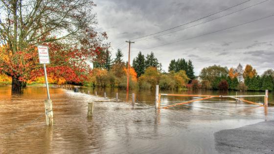 Asistencia por inundaciones